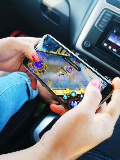 GIRL PLAYING MOBILE LEGEND Mobile Gaming Mobile Gaming Game On Phone New Gaming Era Mobile Legend PUBG 5v5 Game Esports E-sports Game Industry Gaming Industry Game Gamers Gamer Gamersgirl Dota Winning Human Hand Working Artist Business Finance And Industry Close-up