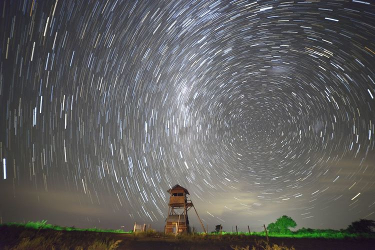 inmensidad Night People Nature Star - Space Outdoors Adult Star Trail First Eyeem Photo