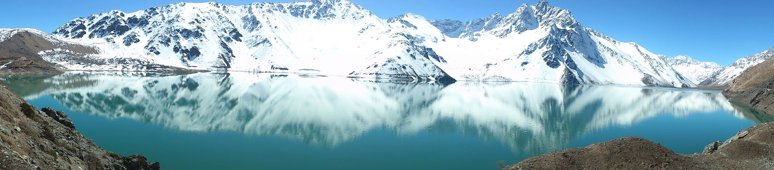 Embalse El Yeso Chile♥ Water Reflections Montains
