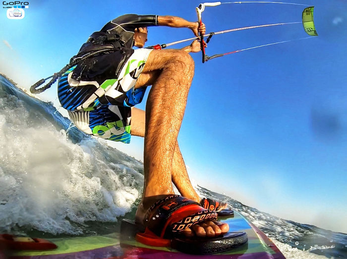 @goprohero @beach @kitesurfing First Eyeem Photo