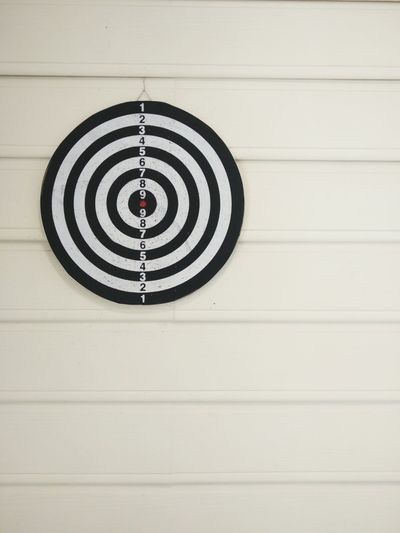 Dartboard On Wall