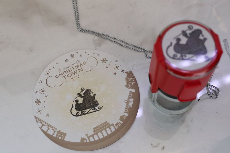 Stamp/スタンプラリー High Angle View Text Communication No People Close-up Indoors  Day Christmastime Santa Claus Canon EOS M5