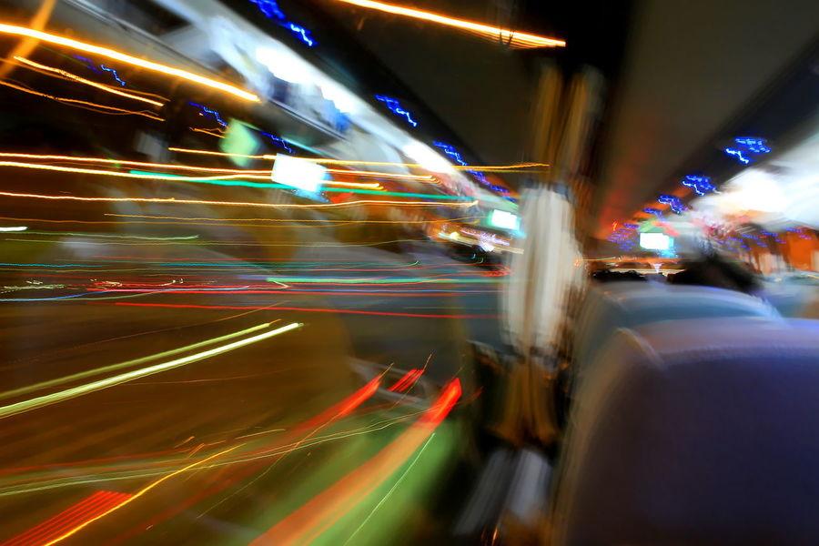 Blurred Blurred Motion Bus Car City Life Driving Effetto Mosso Illuminated Lighting Equipment Long Exposure Macchine Messina Night Notte Scie Luminose Sicily Speed Traffic Transportation
