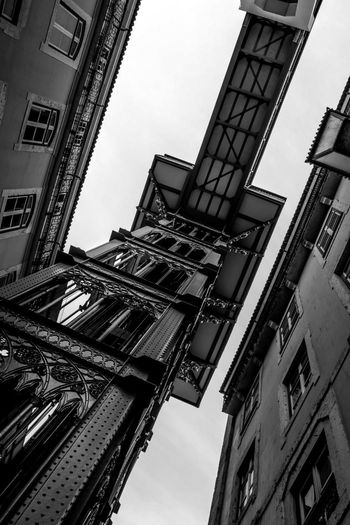 #Blackandwhitephotography #City #architecture #blackandwhite #building #classic #day #detail #lisbon #museum #street #streetphotography Low Angle View Nature No People Outdoors Sky Tower Window