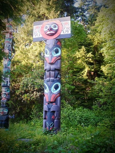 Nature No People Nature_collection Beauty In Nature Vancouver BC Stanley Park Architecture Totem Pole Native Canadian Indian