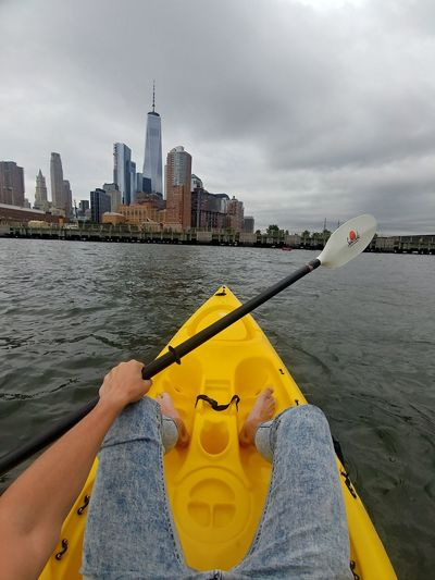 Kayak in Hudson