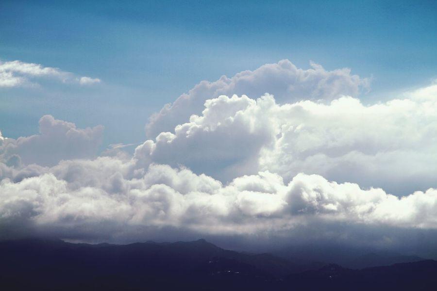 Summersky Clouds And Sky Thunderhead 夏雲