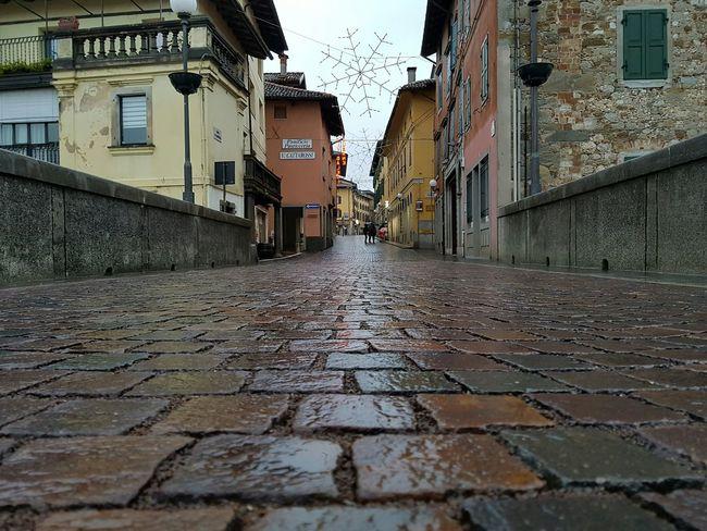Sul ponte del diavolo Street City Architecture Day Wet Bridge Natisone Cividale Del Friuli Udine Friuli Venezia Giulia Italia