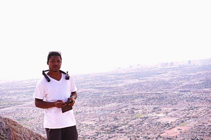 Pixxzo Taking Photos Enjoying Life On A Hike overlooking Las Vegas Protecting Where We Play Goprooftheday Gopro