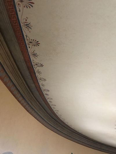 Ceiling Abstract Acquarioromano Architecture Classc Close-up Decoration Linear No People