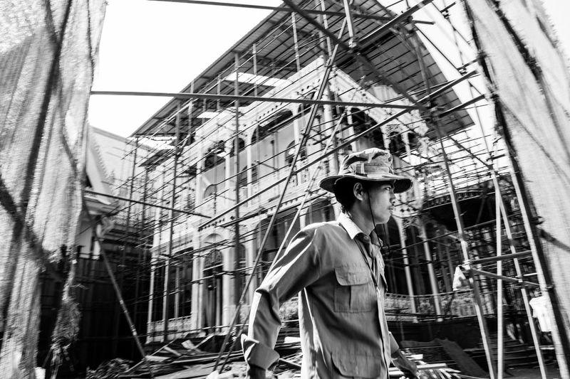 Pavilion of Napoleon III ( Working in Progress) Phnom Penh Cambodia Pavilion Of Napoleon III Blackandwhite Streetphotography Streetphoto_bw