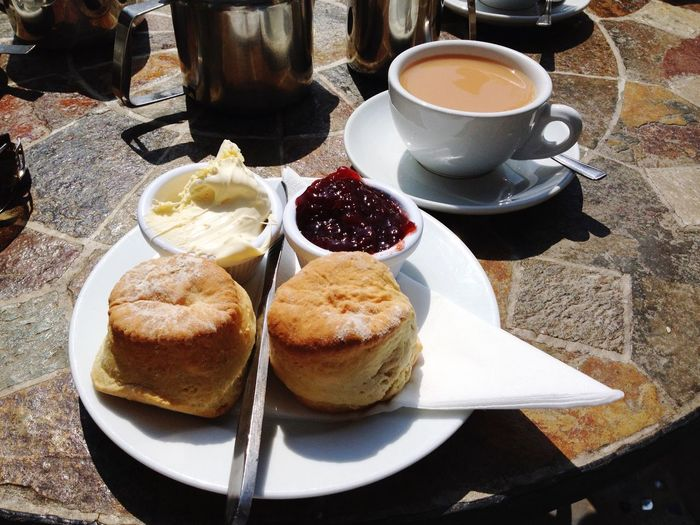 Summer remembered Cornwall Perranporth Cream Tea Summer2015 Relaxing