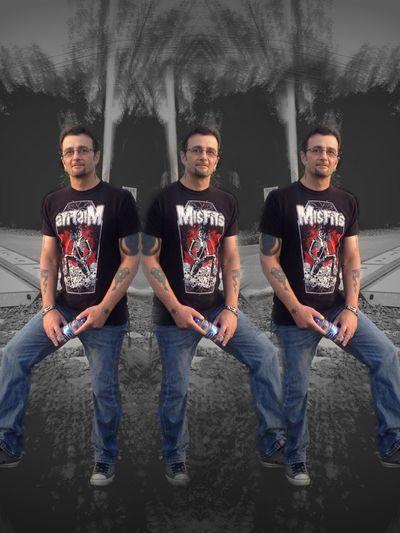 Triple Vision Altered Image Altered_Perceptions Illusion Misfits Colorsplash Blackandwhite 💀
