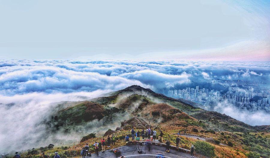 Scenic view of cloudscape