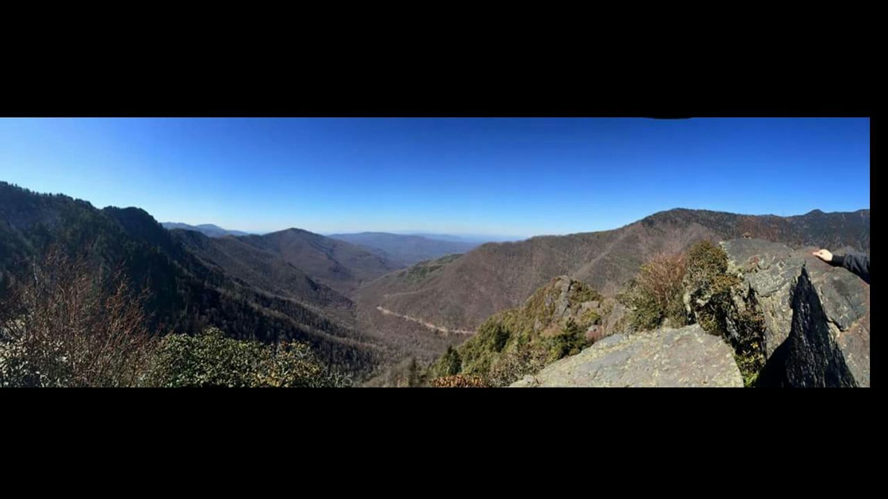mountain, auto post production filter, mountain range, nature, beauty in nature, landscape, tranquility, scenics, tranquil scene, no people, day, outdoors, clear sky, blue, panoramic, sky