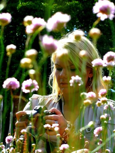 ...one moment over one moment Flower Close-up Nature Blossom Australian Flowers Beautiful Blond Beautiful Girl Sunlight Fragility Blonde Blond Hair People And Places