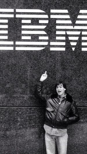 Steve Jobs 1983. Apple Stevejobs IBM IPhone
