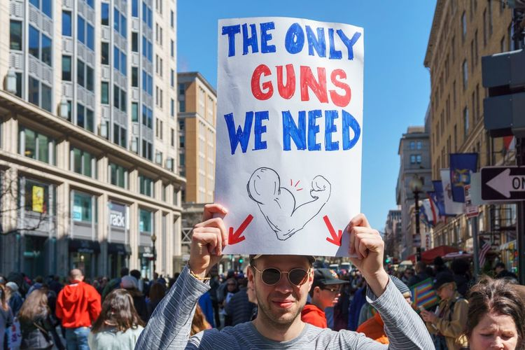 March For Our Lives, Washington DC, March 24, 2018 Protest Gun Control March For Our Lives