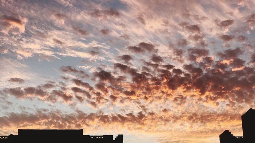 Cloud - Sky Sky Sunset Beauty In Nature Scenics - Nature Nature Silhouette