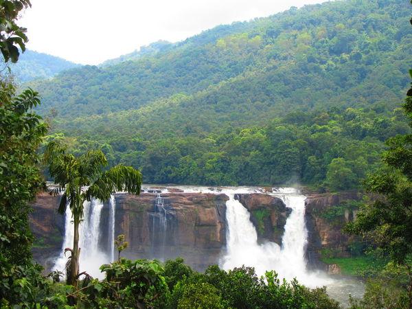 Waterfall Beauty In Nature Motion River Mountain AthirapallyFalls Athirapallywaterfalls Athirapally Nature Photography Nature Power In Nature Beauty India Forest Kerala Gods Own Country Keralattraction Greenaryallaround Greenary