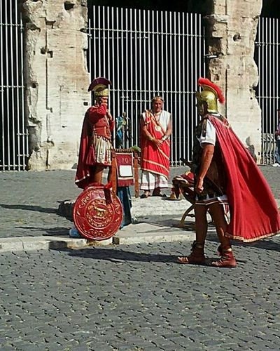 Romans in Roma Rome Italy On The Street Roman Soldiers