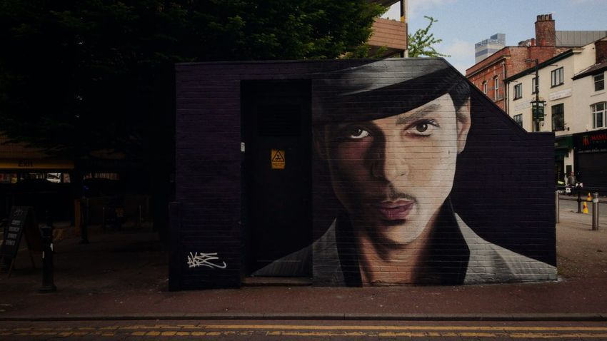 """""""Despite everything, no one can dictate who you are to other people"""". Prince  Manchester Northern Quarter Graffiti HuaweiP9 Leica Leicap9 Street Photography Eyem Best Shots The OO Mission"""
