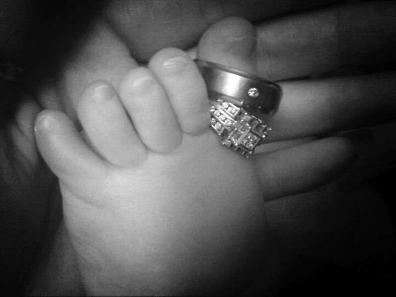 Babytoes Weddingring Love