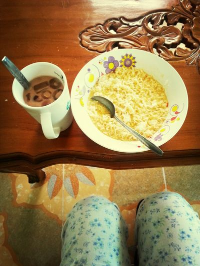 my breakfast.. Quality Time
