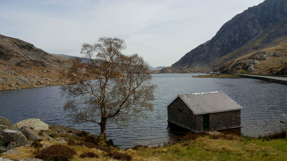 The stunning view over Llyn Ogwen 💙 Stunning Scenery Beautiful Samsung Galaxy S6 Edge+ From My Point Of View Landscape EyeEm Nature Lover Check This Out Enjoying Life Streamzoofamily Day Out With Friends Stunning Nature_collection Beautiful Day Landscape_photography Snowdonia National Park Ogwen Valley Lake View Lake Wales Tree_collection  Trees