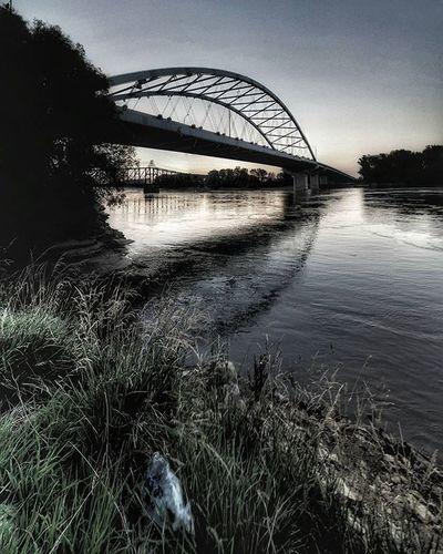 Amelia Earhart memorial bridge in Atchison Kansas... And Missouri river.. Lol Ks_pride Atchison Ameliaearhart Googlecamera Wow_america Kansasphotographer Kansasnature Worldwide Waterscape Wow_hdr Bridge