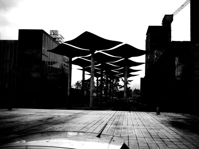 Hello ❤ in the bus Architecture Built Structure Building Exterior Day Outdoors No People City Sky Buildings Architecture Architecture_collection Architecturephotography Monochrome Photography Monochromatic Blackandwhite HuaweiP9 Huaweiphotography Huawei P9 Leica Thankshuawei