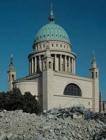 Architecture Building Built Structure Clear Sky Place Of Worship Religion Rubble Sky