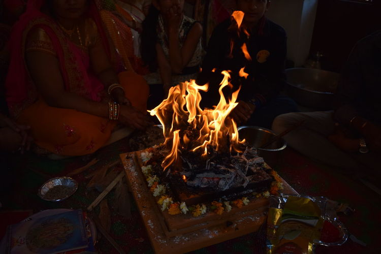Fire Fire Of Life Firelight Hindu Culture Hinduism Indiapictures Peaceful Traditional Culture Yagya