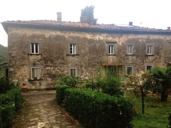 Old House Familyhouse Ancient Garden Old Buildings Tuscany Benabbio Countryside Lunigiana