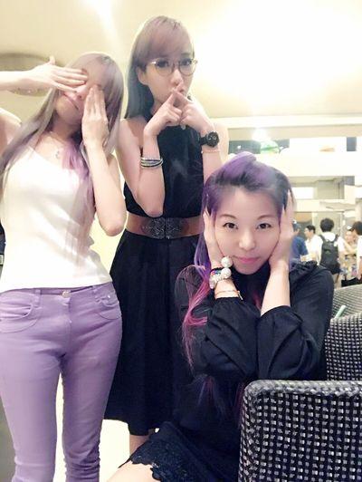 See No Evil, Hear No Evil, Speak No Evil Women Around The World Girls With Coloured Hair Modern SGAfterhours Women Around The World