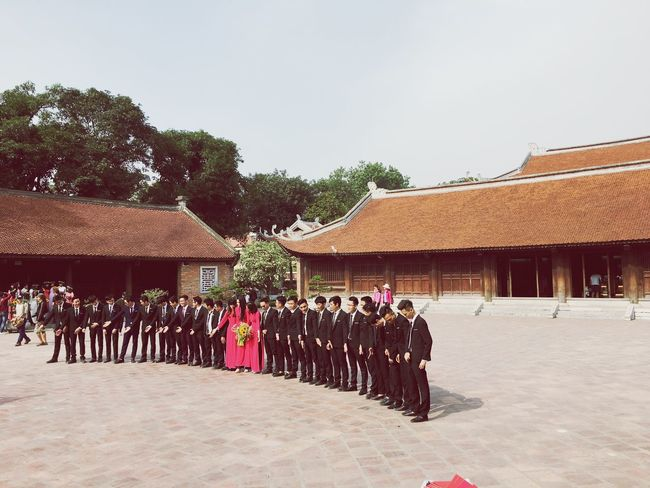 Confucian Temple Confucius Hanoi Vietnam Vietnamese Student Graduation Architecture Traveling 孔子 IPhoneography Iphone6s Travel Destinations