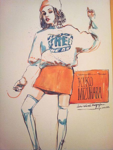 Kikomizuhara Drawing Art Portrait