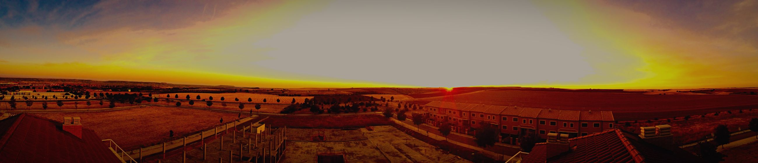Sun Beautiful Afternoon Atardecer Contry Livin Pueblo Construction Photography SPAIN