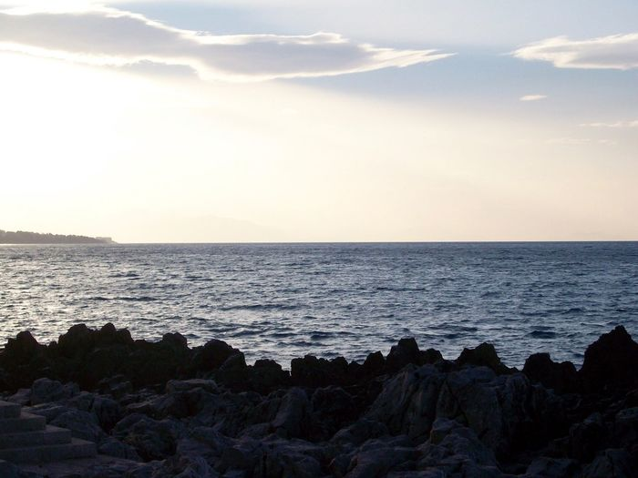 Beach Beauty In Nature Day Horizon Over Water Nature No People Outdoors Rippled Scenics Sea Silhouette Sky Sunset Tranquil Scene Tranquility Water Wave Been There.