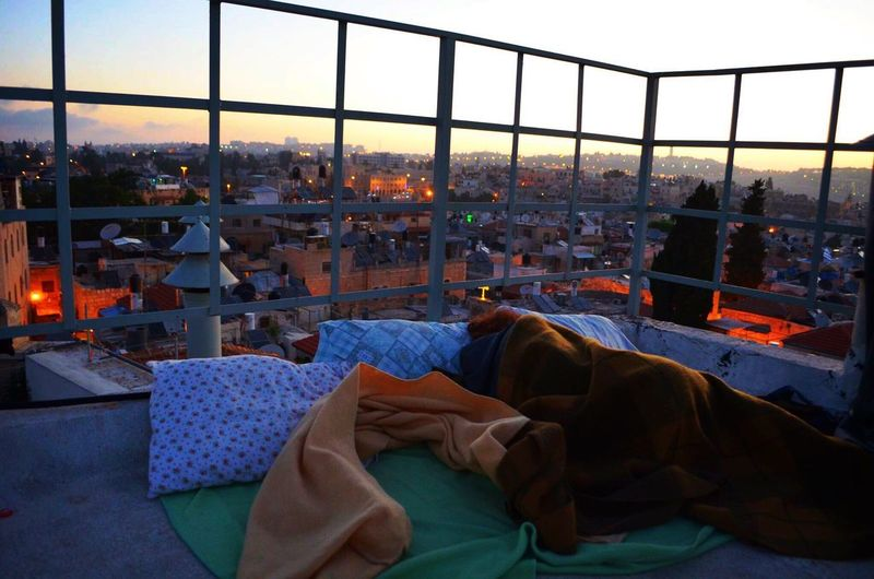 Calm before the war started Sunrise Jerusalem Israel Check This Out Hello World Stop Violence In Palestine Taking Photos Enjoying The View Amazing View Rooftop Sleeping Traveling Showcase: January
