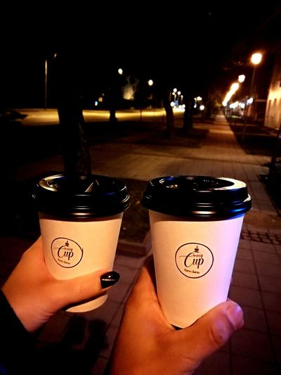 Coffee Night Outdoors People First Eyeem Photo