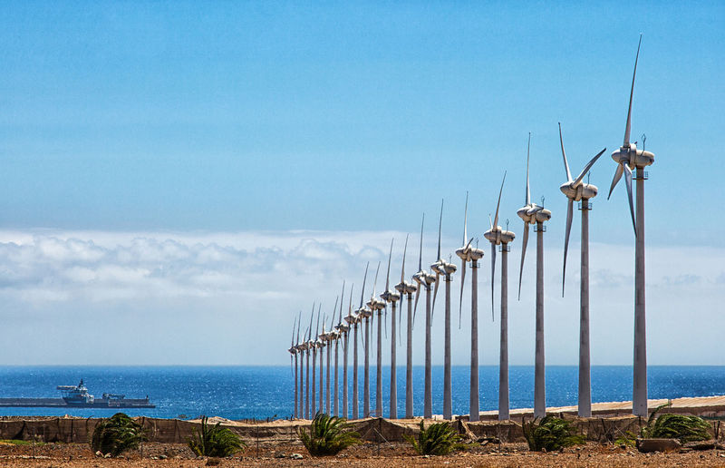 Wind power is