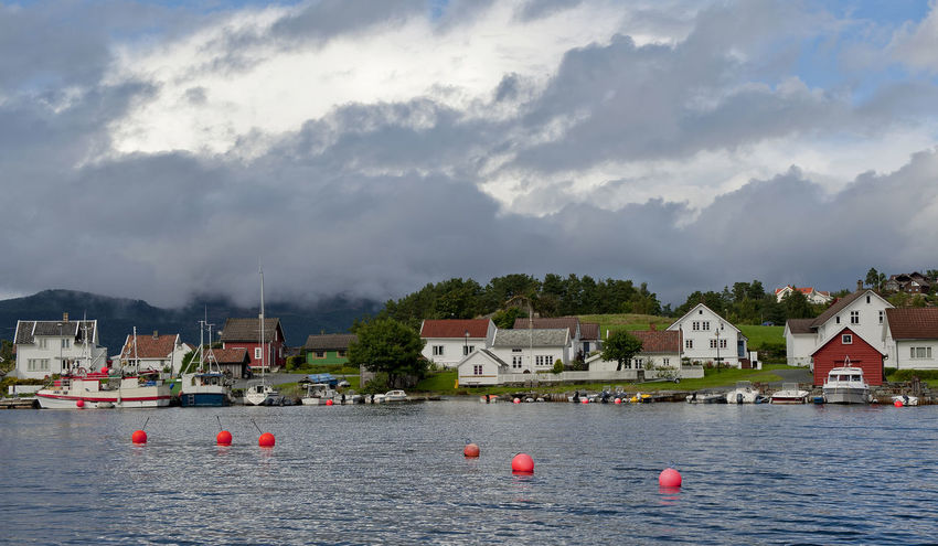 Architecture Boat Cloud - Sky Coast Fjord Fjords Of Norway Harbour Jelsa Nikon Nikon D700 Norge Norway Outdoors Rogaland Suldal Water EyeEmNewHere Miles Away Capture Tomorrow
