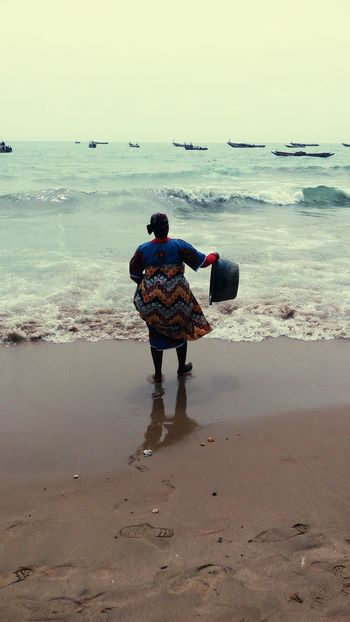 Beach fishing tourisme tourism Sénégal Africa sea pirogues
