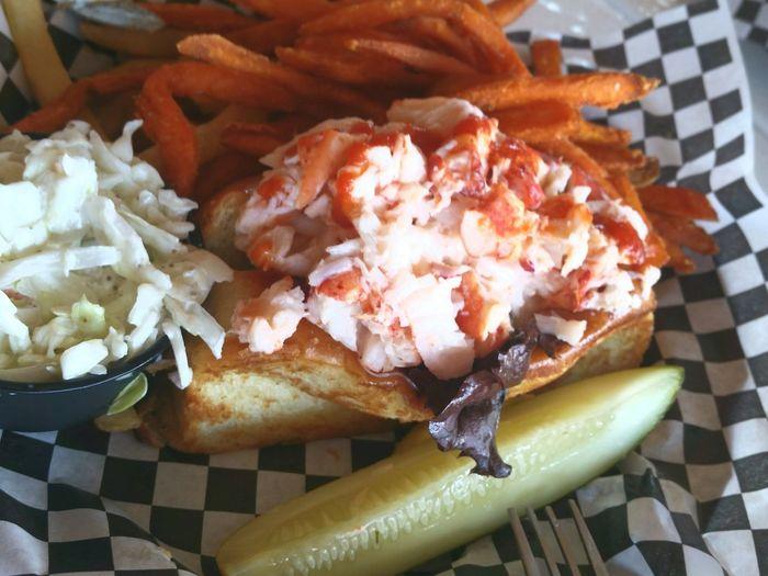 Foodie Lobster Roll In Heaven Foodporn A Taste Of Life My World Of Food Orange Color