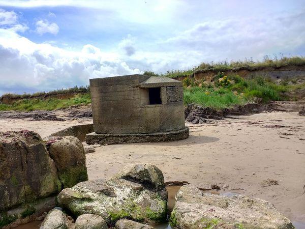 fraisthorpe beach ww2 defences Erosion Sand Dune Yorkshire Coast Ww2 Defences Sea Defenses Fraisthorpe Fraisthorpe Beach Concrete Structure Concrete Ww2 WW2 Leftovers Fraisthrope