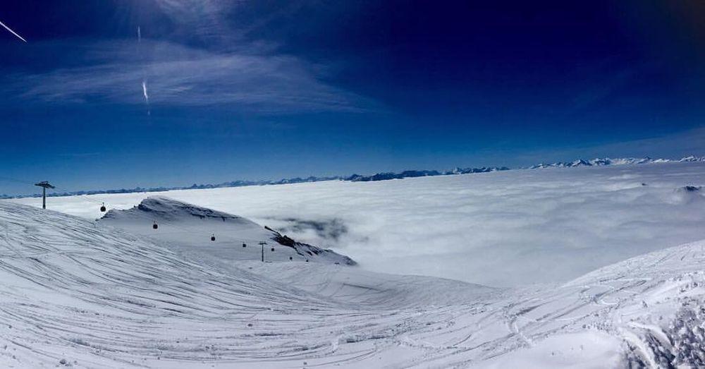 Beautiful ski