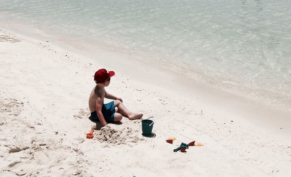Beach Beach Day Beach Photography Beach Time Child Childhood Full Length Holiday Nature One Person Outdoors Plying Sand Sand Pail And Shovel Sea Summer Vacations Summer Exploratorium