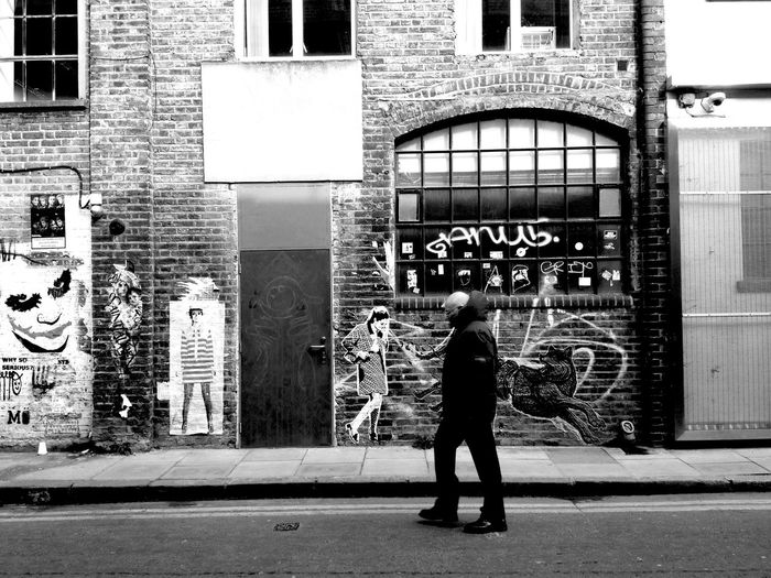 Whitechapel Blackandwhite Graffiti LONDON❤ London Cityscapes Whitechapel