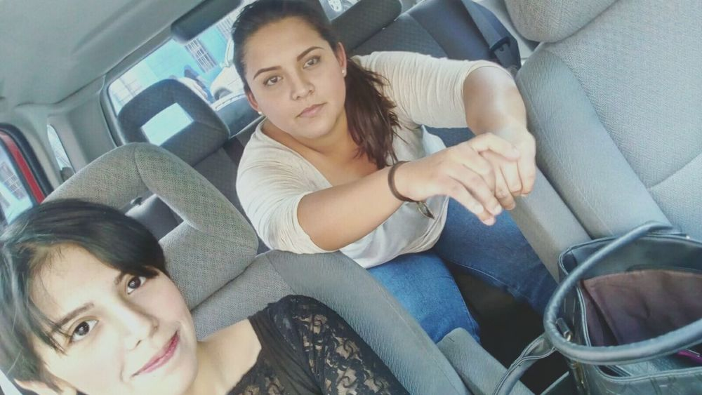 Selfie In Car Black Hair Looking Away Girl Power Me Boring Living The Moment Indoors  Portrait Indoors  Nice Day Sister
